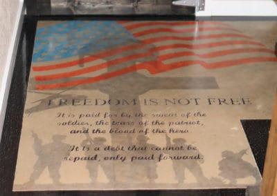 Custom Salute to Military